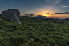 Tramonto dai megaliti (Antonio Calvagno Photography) Tags: italy panorama beautiful wonderful landscape fantastic nikon rocks d750 sicily roccia rocce marvelous paesaggio megaliti nital nebrodi montalbanoelicona nikonflickraward flickrtravelaward