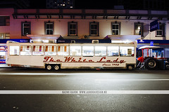 White Lady Food Truck - Auckland, NZ (Naomi Rahim (thanks for 2 million hits)) Tags: street city travel newzealand food architecture night truck lights nikon streetphotography wanderlust auckland nz northisland van foodtruck foodcart 2015 travelphotography whitelady nikond7000