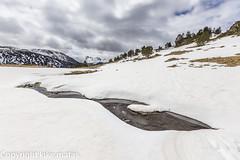 Riu del Querol, Principat d'Andorra (kike.matas) Tags: nature rio canon agua nieve paisaje nubes andorra montaas pirineos andorre canillo valldincles principatdandorra  canonef1635f28liiusm kikematas canoneos6d lightroom4 riudelquerol