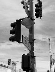It's not you, no wait, it is you (Michael Dunn~!) Tags: sanfrancisco sky bw clouds streetphotography soma southofmarket streetfoto photowalking photowalking20160608