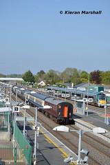 22038 passes Hazelhatch and Celbridge, 16/5/16 (hurricanemk1c) Tags: irish train rail railway trains hatch railways irishrail rok rotem 2016 icr iarnrd 22000 22038 ireann iarnrdireann premierclass 5pce hazelhatchandcelbridge
