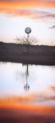 Solitude (tara.bowen) Tags: water windmill canon sydney australia richmond nsw richmondlowlands