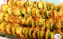 Zucchine e patate al forno con formaggi (RicetteItalia) Tags: cucina contorni ricette