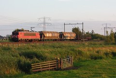 Hogebrug, trein naar Amsterdam Westhaven (Ahrend01) Tags: amsterdam db cargo 1600 serie westhaven kijfhoek goederentrein