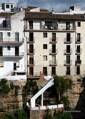 8-070505 Spanien 3 004 Kopie-002 (hemingwayfoto) Tags: 03042007102018 andalusien architektur balkon bauwerk brcke europa felsen gebude gelnder historisch radtour reise reiseziel ronda spanien spanien2007 stadt tal terasse tourismus treppe weltkulturerbe wohnen
