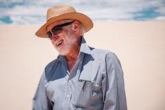 Mi pap (Antonio Contestabile) Tags: portrait smile hat familia 60s desert grandfather funeral nonnomayito
