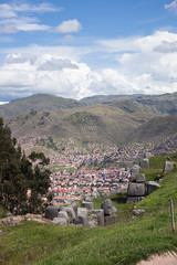 IMG_4530 (monique.timlick) Tags: saqsaywaman historicalruins ruins historical cusco peru southamerica stonework mountains landscape inca cityscape clouds sky blue trees nature outdoors incanruins canon