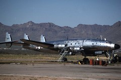 VC-121A: 48-0610 Avra Valley 1989 (P T Lea) Tags: lockheed constellation
