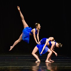 Dazzling Trio 2 (R.A. Killmer) Tags: girls cute senior beauty dance stage performance teens dancer graceful talented skill danceworkshopbyshari
