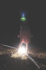 Power Up (C_MC_FL) Tags: light woman night canon dark person photography eos licht scary mood fotografie nacht zombie fear flash sigma atmosphere wideangle fisheye flare horror frau blitz angst dunkel stimmung 10mm weitwinkel unheimlich blitzlicht fischauge 60d