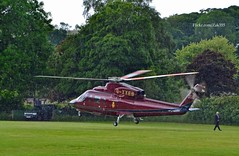 (Zak355) Tags: scotland aircraft aviation scottish helicopter kilts princecharles tartan royalfamily bute rothesay isleofbute dukeofrothesay gxxeb