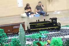 BW_16_Penn-Tex_063 (SavaTheAggie) Tags: pennlug tbrr pentex texas brick railroad train trains layout steam engine locomotive locomotives display yard city
