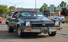 1973 Chevrolet Chevelle SS (RudeDude2140a) Tags: black classic chevrolet car ss chevelle coupe 1973
