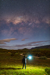 It's a long way to walk (ian_inverarity) Tags: selfie australia stars night milkyway