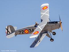 B-131 Jungmann (Ignacio Ferre) Tags: madrid airplane nikon aircraft aviation military airshow avin fio avioneta lecu jungmann cuatrovientos bckerb131jungmann spanishairforce fundacininfantedeorleans bckerb131