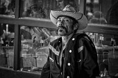 Desperado (Jim-Mooney) Tags: street portrait people blackandwhite bw white black monochrome photography mono blackwhite fuji candid monotone kansascity fujinon xt1 50140mm
