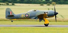 G-CBEL Hawker Fury FB.10 c/n 37539 as Prototype SR661 (eLaReF) Tags: gcbel hawker fury fb11 cn 37539 prototype sr661