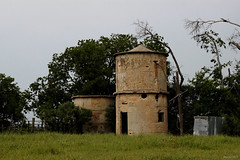 JRpad5.6.15 (jrbeckwith) Tags: old sky brick project dark private evening photo cool day texas tx picture pad property jr structure line gas silo 365 fortworth haslet beckwith