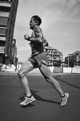 Athlete's fiber (Little Perez) Tags: andaluca muscle marathon run fisheye granada fiber athlete runner atleta musculos canoneos40d samyang8mm