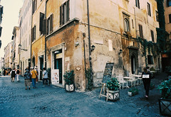Rome alley (swerveyifan) Tags: italy rome