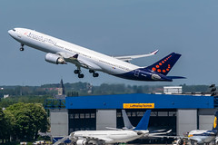 Brussels Airlines / Airbus A330 / OO-SFO / EBBR 25R (_Wouter Cooremans) Tags: brussels airbus airlines takeoff runway a330 ebbr brusselsairport 25r runway25r oosfo