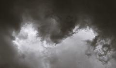 Growing Menace (fotostevia) Tags: bw monochrome clouds darkclouds pentaxk10d pentaxfa7718limited