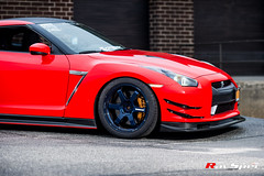 "RAYS TE37 Ultra Mag Blue - Nissan GTR R35 • <a style=""font-size:0.8em;"" href=""http://www.flickr.com/photos/64399356@N08/17863174185/"" target=""_blank"">View on Flickr</a>"