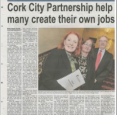 Cork Independant - Cork City Partnership Enterprise Report Launch April 2015