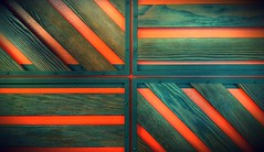 124/365 (MichaelTimmons) Tags: wood orange abstract art lines angles