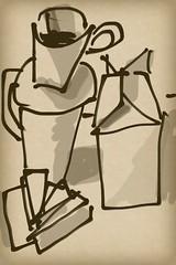 2015.04.29 Kitchen Still Life (Julia L. Kay) Tags: sanfrancisco blackandwhite bw woman white black art mobile female digital sketch san francisco artist arte julia kunst touch kay daily brush dessin peinture zen 365 everyday tablet dibujo touchscreen artista mda fingerpaint artiste iphone knstler iart ipad isketch mobileart idraw ithing fingerpainter idevice juliakay julialkay zenbrush iamda mobiledigitalart zenbrushapp zenbrushapponly