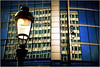 Immeubles, place Madou, Bruxelles, Belgium (claude lina) Tags: reflection building lampe belgium belgique bruxelles brussel reflets immeuble lampadaire placemadou