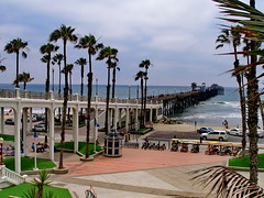 Oceanside Pier 05 (mfnure31) Tags: california bridge beach pier lawn pacificocean oceanside palmtree coastline kiosk oceansidepier