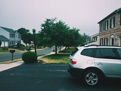 Suburbia (murraylem) Tags: house cars home car silver suburban suburbia neighborhood bmw suburbs neighbors suv x3