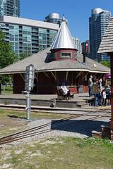 DO:T - John Street Roundhouse (Alex Luyckx) Tags: railroad toronto ontario canada museum sony roundhouse doorsopen steamwhistle doorsopentoronto johnstreetroundhouse a6000 torontorailroadmuseum sonya6000 sonyepz1650mm13556