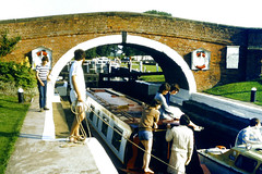 Slide 060-10 (Steve Guess) Tags: uk england river canal leicestershire pegasus union grand gb soar