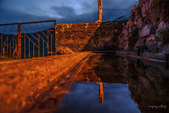 Long Exposure (SergioCastroPhotography.) Tags: street longexposure travel viaje espaa naturaleza mountains art nature night landscape photography mirror noche photo spain photographer artistic sony north creative asturias paisaje espejo reflejo traveling reverse fotgrafo anochecer norte montaas asturies cangas narcea cangasdenarcea oubachu