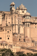 Zoltan Papdi 2015-1002 (Papdi Zoltan Silvester) Tags: voyage travel panorama india building architecture landscape amber asia fort lac palace structure monuments jaipur espace rajasthan tourisme amer inde ambre grandiose