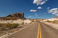 Ross Maxwell Scenic Drive - Big Bend, Texas