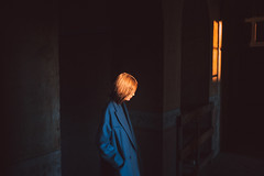 Light is everything. (ikhals) Tags: light sunset shadow portrait italy abandoned chasinglight team vsco canon vscofilm
