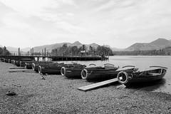 Derwent Water B&W (Charlie Little) Tags: bw landscape lakedistrict derwentwater