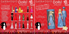 Garbaggio Dolls - Red Carpet Collection Gacha Key + Reward (Ashleey Andrew) Tags: world life original 3d dolls mesh arcade sl secondlife virtual second the gacha garbaggio