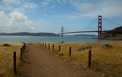 Golden Gate & Bridge (G_a_r_y_____) Tags: ocean sanfrancisco california nightphotography wild mountains nature pacific pacificocean goldengatebridge sausalito canon6d
