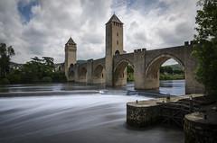 Pont Valentr (nicolas.coq) Tags: lot cahors pont bridge valentr exposition longue long exposure fil water eau ecluse