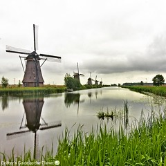 Located In an area 7 meters below sea level, a Dutch icon, Unesco World Heritage Kinderdike is a collection of 19 windmills previously used to pump water and prevent flooding... #travel #visitholland (DriftersGuide) Tags: travel visitholland
