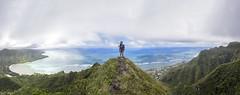 Kahana to Kaaawa (Marvin Chandra) Tags: portrait panorama landscape hawaii model oahu hiking 24mm kahana manamana 2016 d600 kaaawa landscapeportrait marvinchandra katsweets