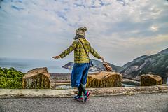 Dancing  with the wind (aViaTioNuT) Tags: girl female hongkong dancing wind eastdam