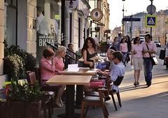 (anton_richell) Tags: city beautiful moscow waitress maroseika