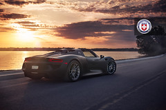 Imola Motorsports Porsche 918 Spyder with HRE P103 in Brushed Titanium (7) (HRE Wheels) Tags: car minnesota studio midwest photographer minneapolis automotive location professional mn premium commerical dynamicphotowerks joshhway