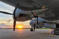 Fifi At Sunset (WK Pix) Tags: fifi chicagoland karr b29 superfortress