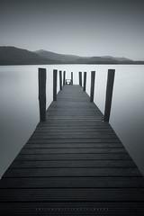 Ashness Jetty (artursomerset) Tags: uk bw white black mono pier cumbria derwentwater ashnessjetty